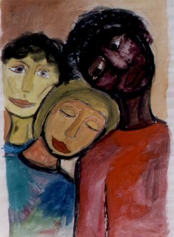 """""""Wer, wenn nicht wir?"""" – Schülerbilder gegen Gewalt und Rassismus"""