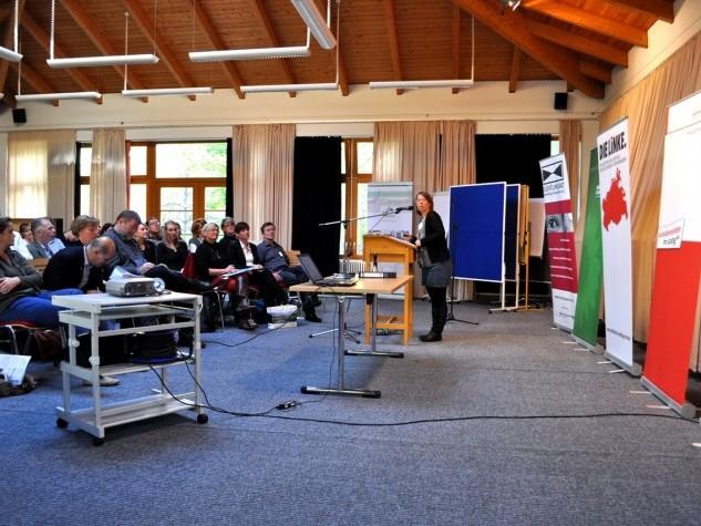 RÜCKSCHAU: SprInt stellt sich auf landesweiter Projektkonferenz zum Dolmetschbedarf in MV vor