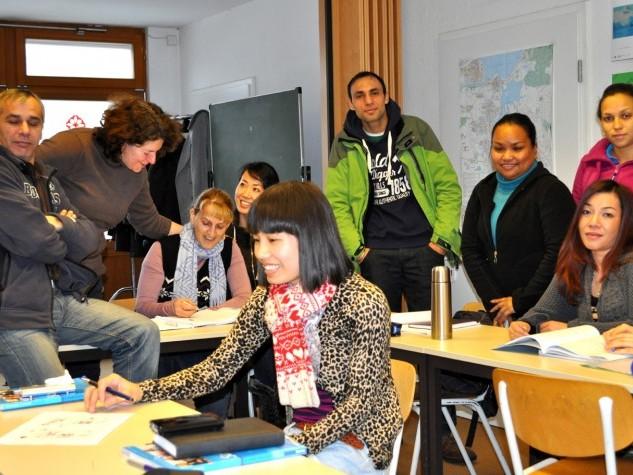 Deutsch lernen in angenehmer Atmosphäre: Neue Kurse seit Januar beim Verein Diên Hông