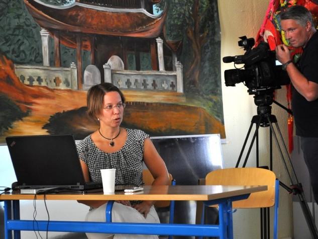 """RÜCKSCHAU: Pressekonferenz """"Diên Hông – Gemeinsam unter einem Dach e.V. und die Sprach- und Integrationsmittlung SprInt"""" (26.08.13)"""