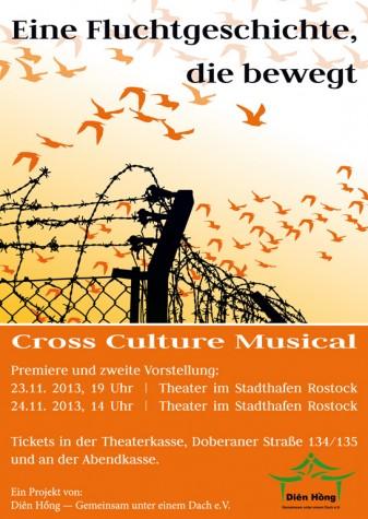 Cross Culture Musical – Eine Fluchtgeschichte, die bewegt (23. und 24.11.13)