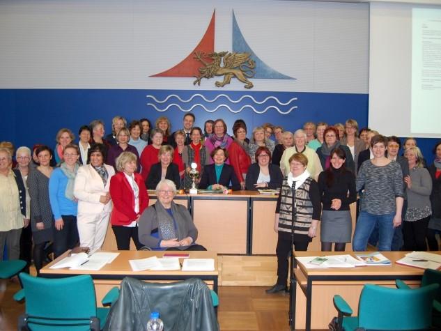 Diên Hông e.V. auf der  1. Frauen-Bürgerschaftssitzung der Hansestadt Rostock (07.03.2014)
