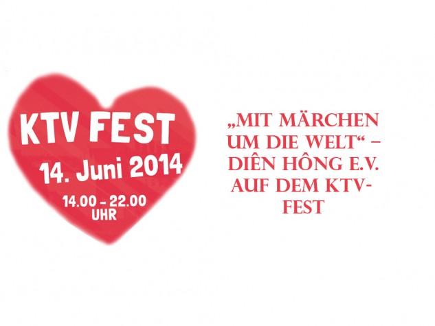 """Mit Märchen um die Welt"" – Diên Hông e.V. auf dem KTV-Fest am 14. Juni"