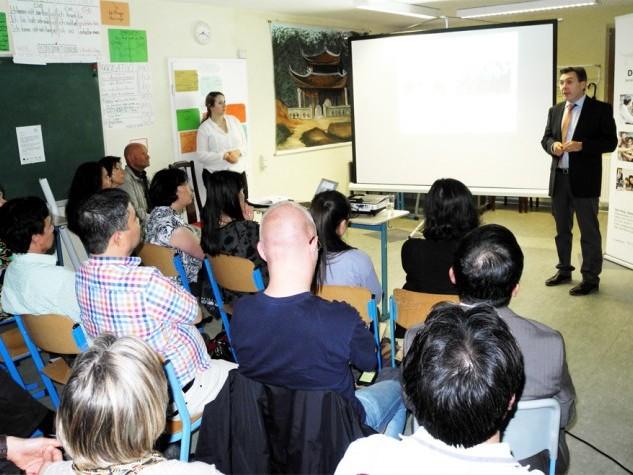 RÜCKSCHAU: Informationen und rege Diskussionen rund um den Konflikt zwischen Vietnam und China (13.06.14)