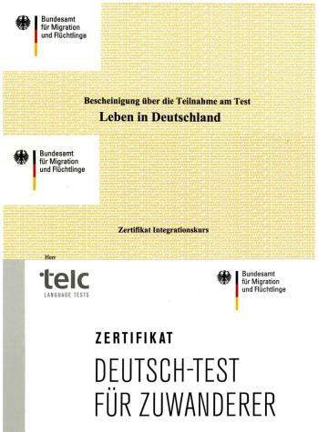 Die Zertifikate Des 36 Integrationskurses Können Abgeholt Werden