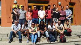 MittlerInnen von SprInt-Rostock im Juni 2016