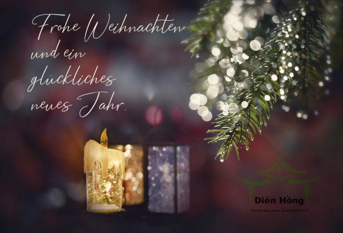 Frohe Weihnachten Und Ein Neues Jahr.Dien Hồng Gemeinsam Unter Einem Dach E V Wunscht Frohe