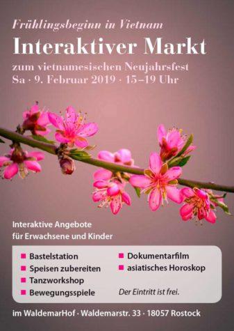 Vietnamesisches Neujahr zum Mitmachen: Têt-Markt im WaldemarHof