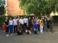 Die Teilnehmenden der Kurzqualifizierung Sprachmittlung in Rostock