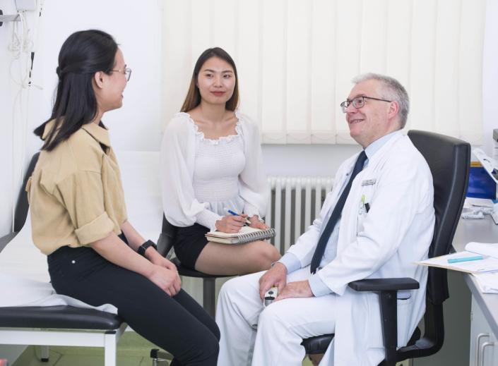Arzttermin mit Sprachmittlung