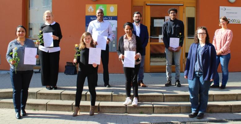Prüfungsgruppe 2 der Kulturmittler*innen-Schulung